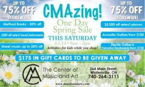 CMA One Day Sale
